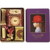 《Tivolina高帽子》餅乾禮盒(紫-100g/盒)