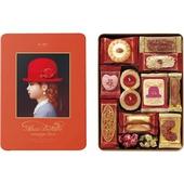 《Tivolina高帽子》禮盒餅乾(橘-222g//盒)