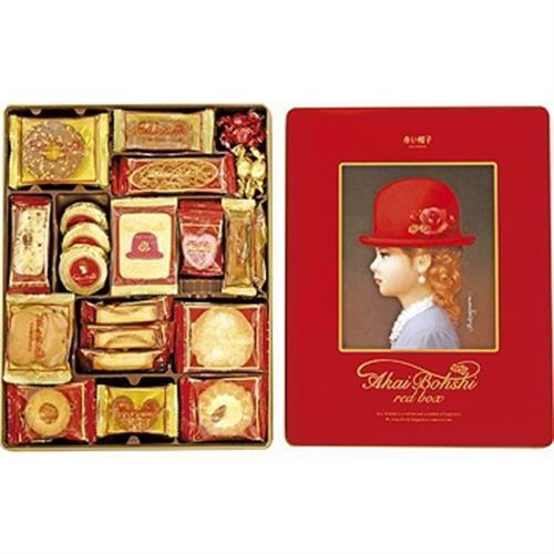 Tivolina高帽子 餅乾禮盒(紅-536g)