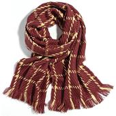 中性毛線圍巾(花色隨機出貨)