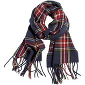 中性毛線圍巾