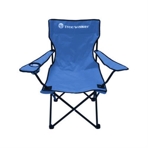 《Treewalker》戶外輕便椅/露營椅/折疊椅(含杯架)(長48x寬48x高85cm)