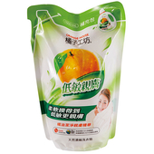 《橘子工坊》一般碗盤洗滌液補充包430ml $92