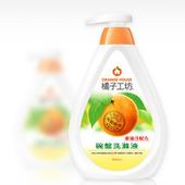 《橘子工坊》重油污碗盤洗滌液(500ml)