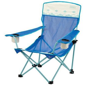 《Coleman》陽光型網椅 #CM-7642J、CM-7643J(熱帶藍)