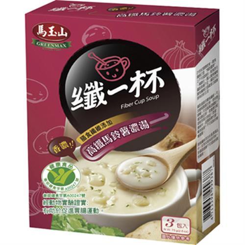 馬玉山 纖一杯高纖馬鈴薯濃湯(25gx3小包)