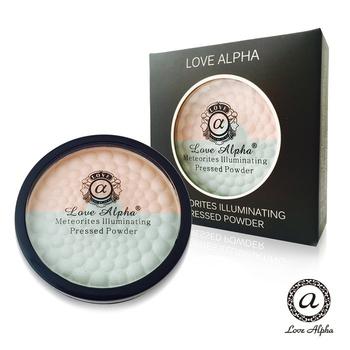 Love Alpha 二合一雙色蘋果光幻彩腮紅蜜粉餅(#05)