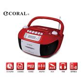 《CORAL》手提錄音帶/CD音響 經典錄音帶播放重現(CD-8800)