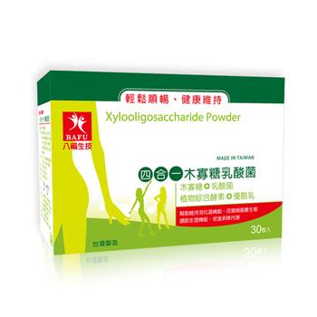 八福台康 四合一木寡糖乳酸菌(30包/盒)