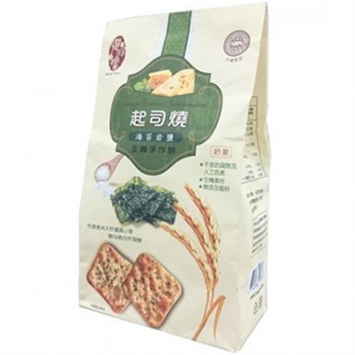 起司燒 海苔岩鹽生機手作餅(250g / 包)