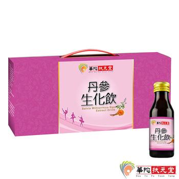 華陀扶元堂 丹蔘生化飲1盒(6瓶/盒)