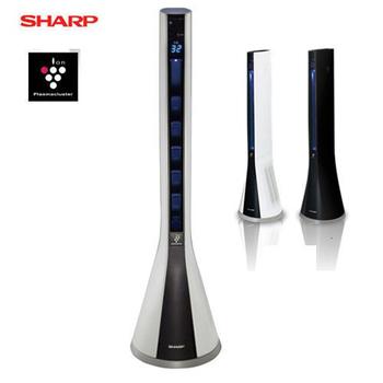 SHARP夏普 自動除菌離子美肌清淨風扇機 PF-ETC1T-B 黑色(一入)