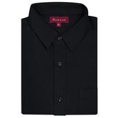《MURANO》彈力休閒男款長袖襯衫-黑色(2XL)