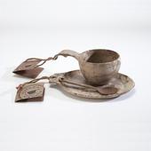 《KUPILKA》松木餐具禮盒組 # 30GB0141 (21松木碗含湯匙+14松木盤)