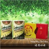 《鄉味》麥苗綠藻多穀飲禮盒組(2罐裝) (1000g)(1000g)