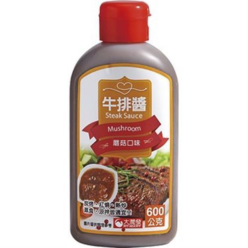 RT 牛排醬(蘑菇-600g)
