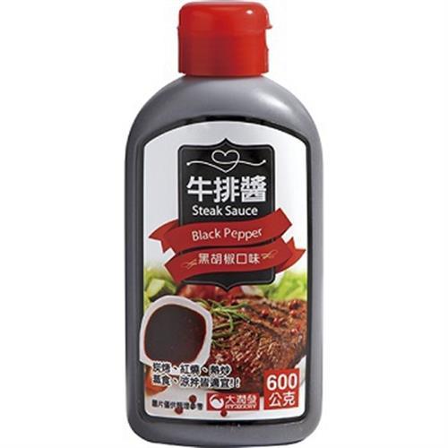 RT 牛排醬(黑胡椒-600g)