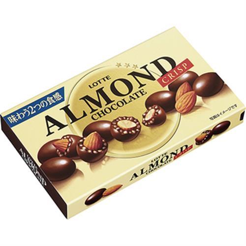 LOTTE Almond脆心杏仁巧克力球(89克/盒)
