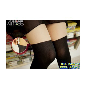 上膚下黑♥拼接假膝上襪(3雙/組)
