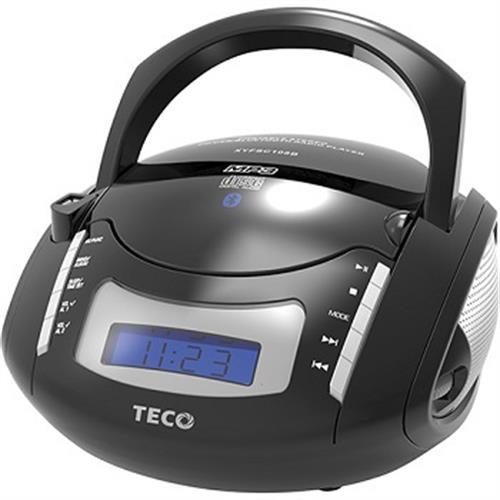 《東元》手提CD/USB/藍牙/時鐘音響 XYFSC108B