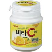 《LOTTE》Vita C檸檬糖(罐裝)(65g)