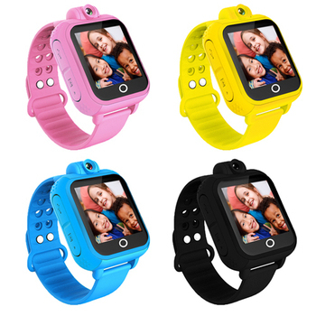IS愛思 3G版兒童智慧GPS定位手錶CW-01(神秘黑)