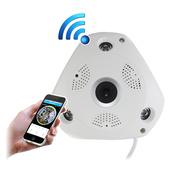 《IS愛思》IR-360V1 VR全景紅外線WIFI監控攝影機
