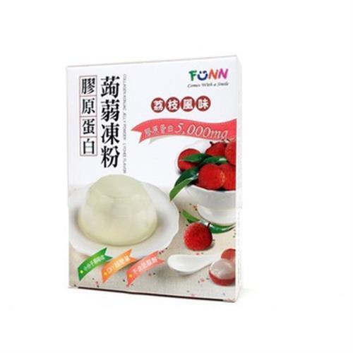 膠原蛋白蒟蒻凍粉(荔枝)(100g/盒)