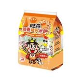 《旺旺》旺仔營養精純米餅量販包-胡蘿蔔口味(50公克(2枚*12袋*2))