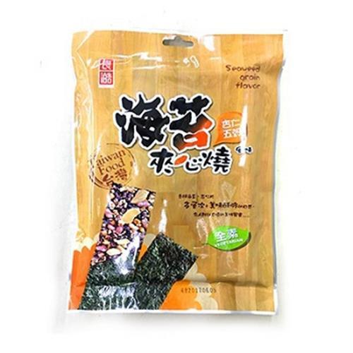 良澔 海苔夾心燒-杏仁五穀(45公克/包)