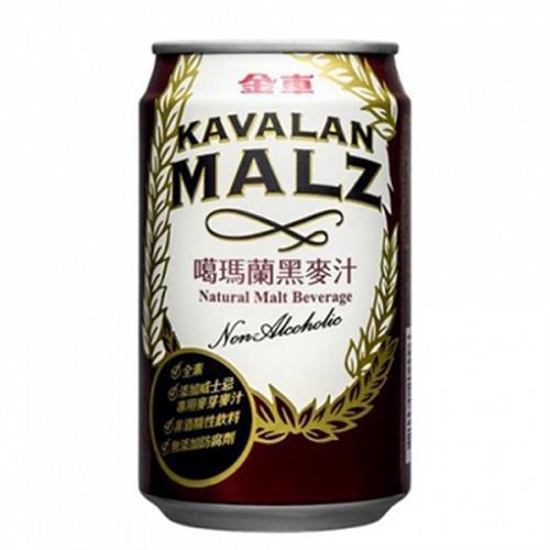 金車 KAVALAN噶瑪蘭黑麥汁310ml*6(310ml*6罐/組)