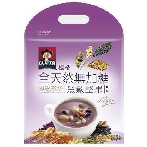《桂格》全天然無加糖超級穀珍黑穀堅果(23G*10包/袋)