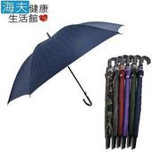 《【海夫健康生活館】》型男專用 銀膠 直立傘(藍色)