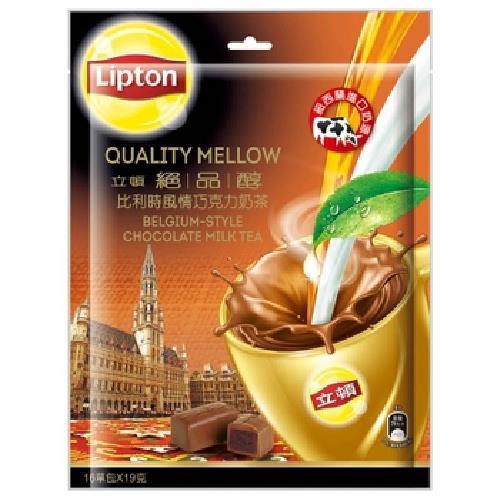 《立頓》絕品醇比利時風情巧克力奶茶(16X19G)