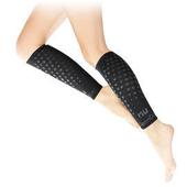 《恩悠數位》【恩悠數位】NU 鈦鍺能量 小腿套 負離子能量束腿(M)