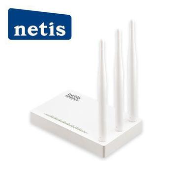 netis netis WF2409E 白極光無線寬頻分享器(白)