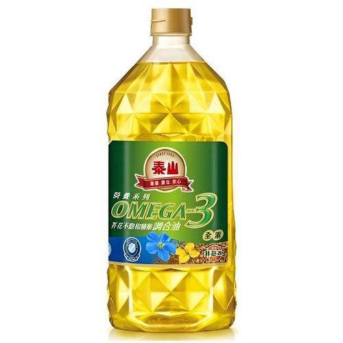 泰山 OMEGA 3芥花不飽和健康調合油(2L/瓶)