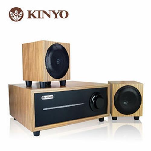 KINYO 2.1 聲道全木質音箱KY-1601