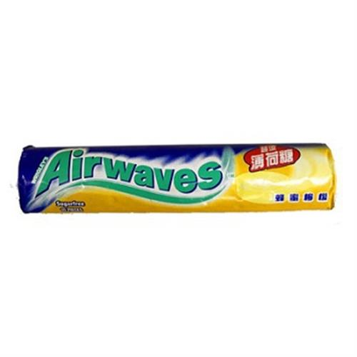 Airwaves 無糖薄荷糖(蜂蜜檸檬)(30g/ 10粒裝)