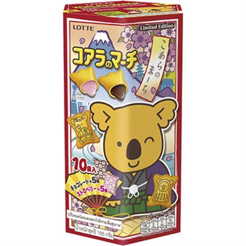 LOTTE 小熊餅乾家庭號-2017限定版(195g)