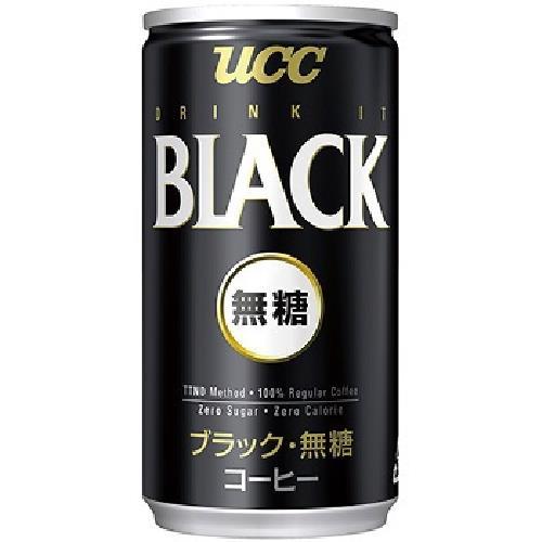 《UCC》無糖咖啡(185gx6罐/組)