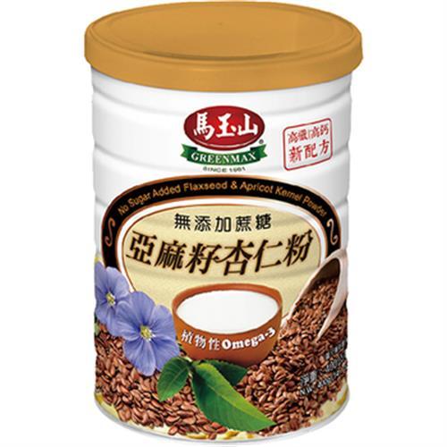 馬玉山 無加糖亞麻籽杏仁粉(400g)