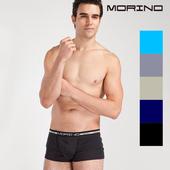 《MORINO摩力諾》抗菌防臭速乾個性平口褲 隨機出色(五件組)(M)