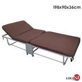 《LOGIS》佳愛蜜 加寬90CM二折床/看護床/陪伴床(090折床)