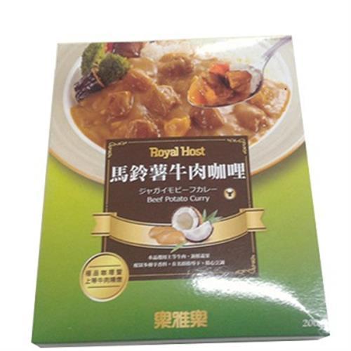 樂雅樂 馬鈴薯牛肉咖哩 200g/盒