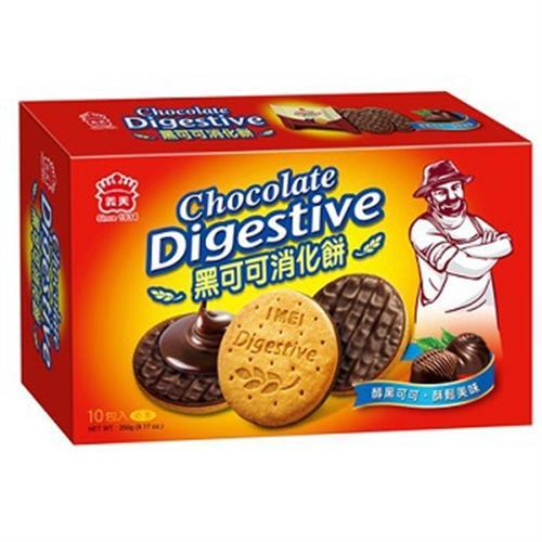 《義美》黑可可消化餅(260g/盒)