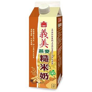 義美 燕麥糙米奶(946ml)