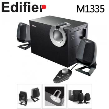 Edifier Edifier 漫步者 M1335 2.1 聲道電腦三件式 防磁 線控 多媒體喇叭(M1335)