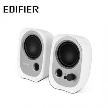 Edifier 漫步者 Edifier 漫步者 R12U 2.0聲道二件式喇叭(白色)
