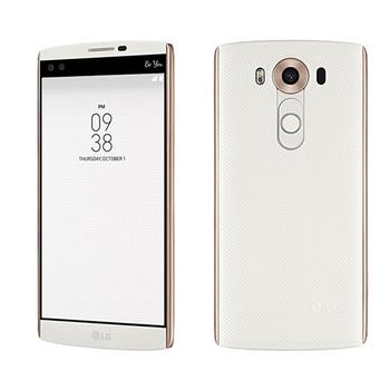 福利品 LG V10 (H962) 雙螢幕雙前鏡頭攝錄六核旗艦機(白)